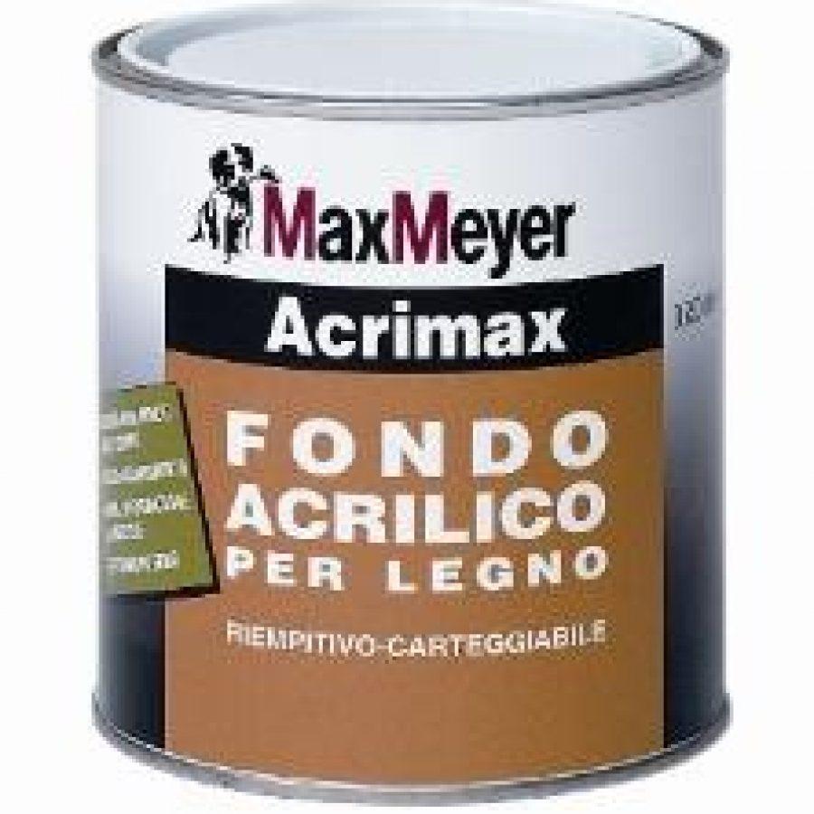 ACRIMAX FONDO PER LEGNO